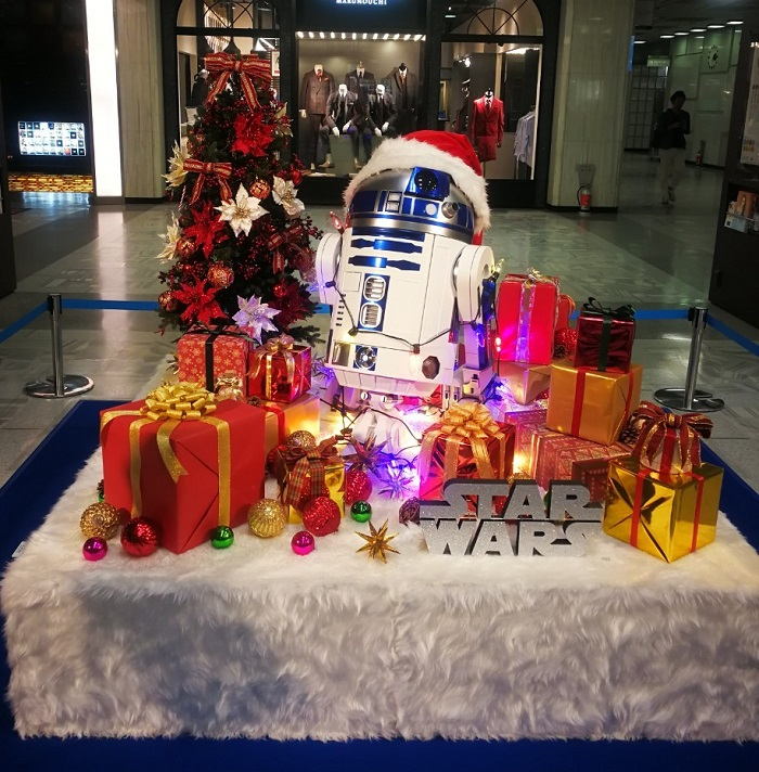 スターウォーズ 丸の内クリスマスイベント