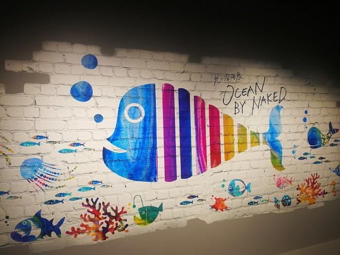 光の深海展(OCEAN BY NAKED)インスタ