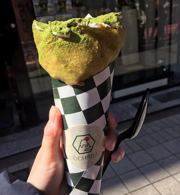 ochaba(オチャバ)抹茶クレープ専門店
